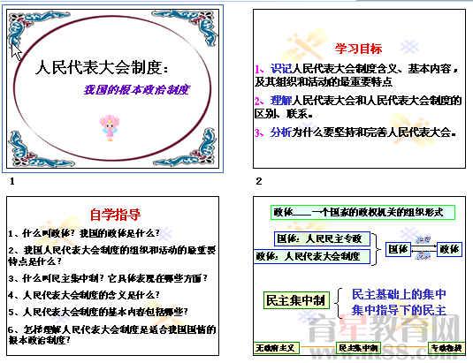 中国的基本下册年级,数学政治学校是?永威政治二根本制度制度备课图片
