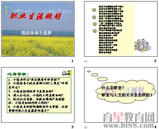职业规划ppt_精美职业生涯规划PPT模板